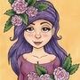 Amelia Rose Copic Marker Illustration by ScribbleFix