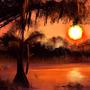 Swamp Ablaze by SeafoamPanda