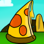The leaning tower of Pizza by ABoxofStuff