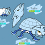 Fakemon: Larvice, Pupice and Iceros