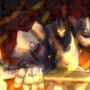 Reinhardt Throught the fire and the flame! by ZenEdit