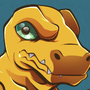 Agumon by geogant