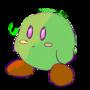 Green Kirb by coolpopcorn