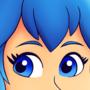 Blue Hair Waifu by Biffalo