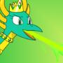 Ezmera's Emerald Flame by OddyMcStrange