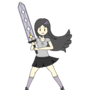 Pi Stands with Her Sword [Team Pi] by rsonbie456