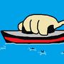 Titanica: Large Woman Swimming by thekirbykrisis