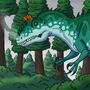 Cryolophosaurus by BrandonP