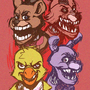 Five Nights at freddies. by HOLIMOUNT2