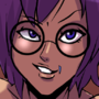 Syrah and Elika- Purple by Shadowblackfox