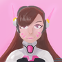 D.va Photoshop Portrait by Choji194