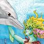 Goddess of the Seas by Geckone