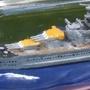 1/1200 Revell Scharnhorst in a bottle by Fallschirmfuchs