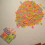 Stick It UP (Sticky Notes on a Wall) by BRMntga