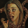 Detail of 'The Waiting Room (Part 3) - Oil on Canvas by Furious-Monkey