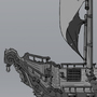 Pirate Ship Design by alejandroartworks
