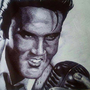 King of Rock - Elvis by lewisdraws