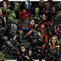 Infinity wars full colour
