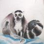 Lemur Watercolour