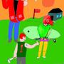 Mini-golf art by ramonMASTER