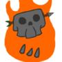 Flaming Skull Animated by FloorAesthetics