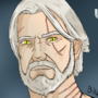 Geralt of Rivia Cell Shading Practice by ClydeDudeHarlow