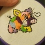 Patchwork Pig- COTM DrawWithJazza WIP by Mnbyars