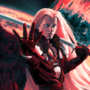 Sephiroth. One winged angel. GIF by nakatan-the-seer