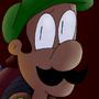 Luigi's spooky house by Crazycow237