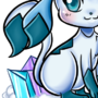 Cute Glaceon by Rrachel-chan