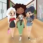 Shopping Time by ChibiAshley
