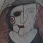 JigSaw/John Kramer Pencil Sketch by DeadlyKoopa