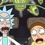 Rick and Morty take the wheel! by hardly-thinking