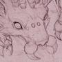 unseelie huntsman sketch by LazerJay