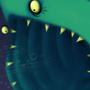 basking shark by DarkDarren