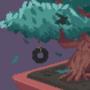 Tree in yard