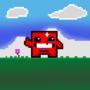 Pixel Art - Meat Boy by AssRGBGnome