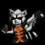 Rocket Raccoon by TheIYouMe