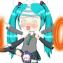 Miku's 10th Birthday (Spiked Punch Bowl Edition) by JuliusMabe
