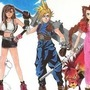 Final Fantasy VII Characters / Logo Drawing by Flyley