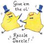 Razzle Dazzle Birdblobs by Sabtastic
