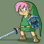 Fatty Link by HotDiggedyDemon