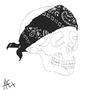 Gangster skull by mizmoz