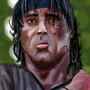 Sylvester Stallone caricature by MinioN99