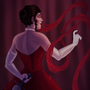 Lady in Red by Skimlet