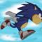 Sonic runs and stuff