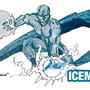 Ice man Illustration by vago187