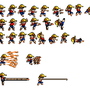 luffy lsw sprite sheet by triggerforever