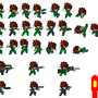 snake lsw sprite sheet by triggerforever