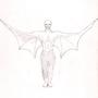 Winged vampire by Tongphei